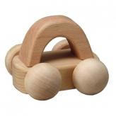 MOCCO 森のメロディーカー(曲名:スモールワールド)安心安全 日本製の木のおもちゃ