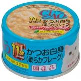 〈CIAO 年齢別 子猫/シニア〉11歳からのかつお白身(柔らかフレーク) 48缶