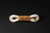 120cm WAX' SHOE LACE -ROUND-/ NATURAL
