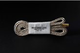 120cm WAFFLE SHOE LACE / GREIGE