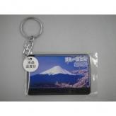 富士山 キーホルダー 液晶温度計