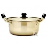 アカオアルミ 純しゅう酸実用鍋 日本製