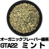 フレーバー緑茶 GTA22ミント 大サイズ100g缶 オーガニックハーブ×富士山緑茶 リフレッシュ