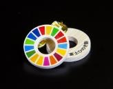 富士ひのき製SDGsバッジ