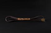 71cm DRESS SHOE LACE / DARK BROWN