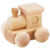 MOCCO 森のメロディーロコ(曲名:ミッキーマウスマーチ) 安心安全 日本製の木のおもちゃ