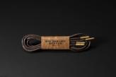 120cm WAX' SHOE LACE -ROUND-/ DARK BROWN