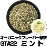 フレーバー緑茶 GTA22ミント 小サイズ30g缶 オーガニックハーブ×富士山緑茶 リフレッシュ