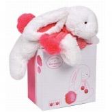 DouDou ドゥドゥー ボンボンラビット ストロベリー 安心安全 ぬいぐるみ 出産祝い 1歳2歳 誕生日祝い