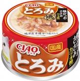 〈CIAO とろみ〉焼かつお ささみ カツオ節入り 48缶