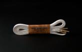120cm WAX' SHOE LACE  -FLAT-/ NATURAL