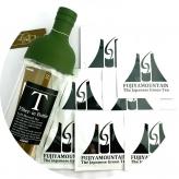 ギフト 富士山緑茶とボトルのセット フジヤマウンテン 1回パック(10g)×7個