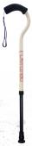 杖『FLAMINGO2(フラミンゴ2)』 【サイズ伸縮式】ミルキーホワイト
