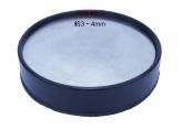 洗濯機向け 防振・防音パッド 4ケセット MΦ100-84