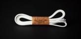 120cm WAX' SHOE LACE /WHITE