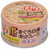 〈CIAO 年齢別 子猫/シニア〉11歳からのまぐろ白身(柔らかフレーク) 48缶