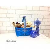 紙バンド手芸 トライアルキット プチギフトバスケット Horizen Blue