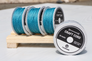WAX CORD/ NILE BLUE/ 0.5㎜ /30meter