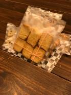 動物性原材料、砂糖不使用【雑穀甘酒のクッキー】プレーンショートブレッド