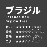 ブラジル バウ農園 トミオフクダ  Dry On Tree 【中深煎り】 100g/200g