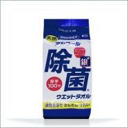 天然アルコール除菌ウェットタオル詰替え用(100枚入)