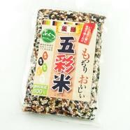 雑穀米5種をセレクションした「五彩米」(300g)