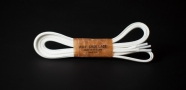 120cm WAX' SHOE LACE /WHITE