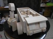 木製トラック・積み木入