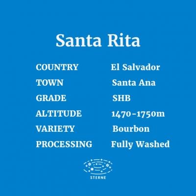 エルサルバドル サンタリタ農園  100g